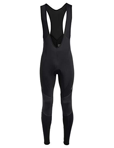 VAUDE Herren Hose Active Warm Tights ohne Sitzkissen für den Wintersport, black, S, 41696