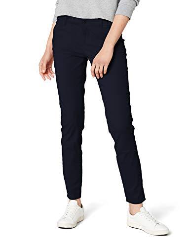 ONLY Damen Chino Hose onlPARIS LOW SKINNY CHINO PANTS PNT NOOS, Blau (Navy Blazer), W34/L32