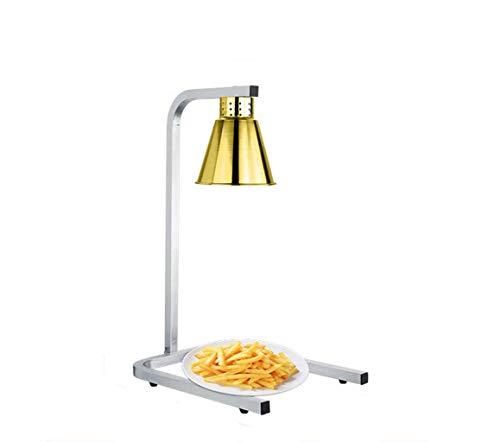 Opwarming lamp, enkel/dubbele kop warmteopslag van de lamp, U-vormig isolatiebord van roestvrij staal, verwarming, buffet