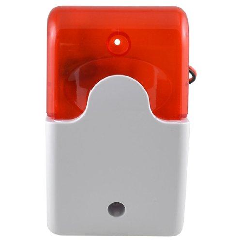 sourcing map 110DB Security Alarm,Kunststoff-Alarm-Lautsprecher mit Stroboskop-Sirene,Panikalarm für Frauen und ältere Menschen
