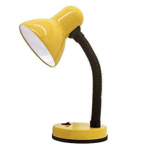 Luminaria de Mesa Abajur Articulavel Copa Flexivel Trabalho Escritorio Sala Luz Leitura Estudos Iluminaçao