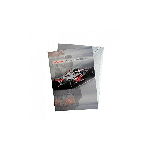 Vodafone McLaren Mercedes F1-Karte