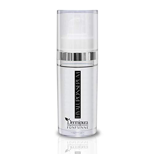 FÜNFSINNE Hyaluron Serum: Starkes Anti Aging für reine Haut ohne Fettfilm,hochdosierte Hyaluronsäure