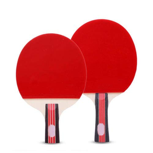 New Forsee Professional Ping Pong Paddle Advanced Training Table Tennis Racket with Carry Case (2PCS)