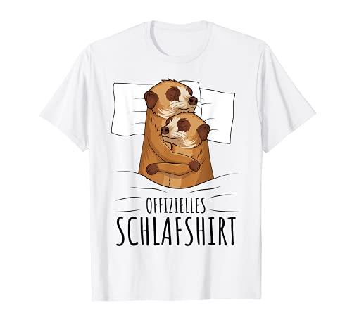 Offizielles Schlafshirt Erdmännchen T-Shirt