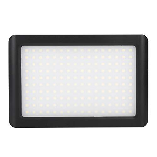 YOIM Luz de Video LED, Panel de Lámpara de Videocámara 160LED de Alto Brillo Panel LED para Foto de Cámara para Cámara DSLR Videocámara DV para Video de Estudio