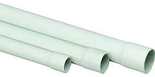 Stangenrohr PVC, 2m EN16mm, grau