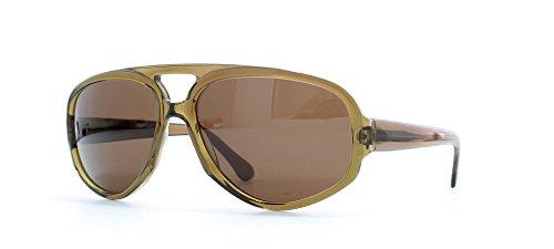 Rodenstock Salerno Green Square zertifizierte Vintage Sonnenbrille für Herren