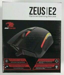 Zeus E2 3200 DPI Optical Gaming Mouse with 6 Buttons (3 programmable)