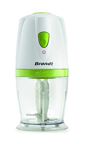 Brandt HAC500BV - Hachoir Électrique - 500W - Blanc et Vert