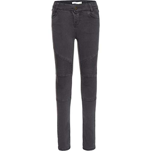 NAME IT NAME IT Mädchen NITTIRSANNE Skinny Pant NMT NOOS Jeans, Grau (Asphalt), 116