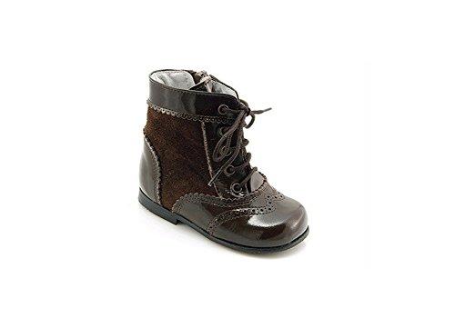 León Shoes Mädchen Stiefel braun (22)