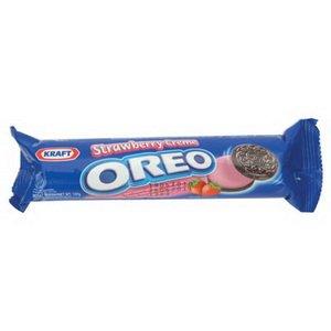 Oreo Sandwich Cookies Straw 137g.