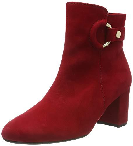 Gabor Damen Basic Stiefeletten, Rot (Rubin 15), 39 EU