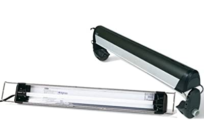 Glo T5 Ho Linear Fluorescent Lighting System, Single, 24-Inch