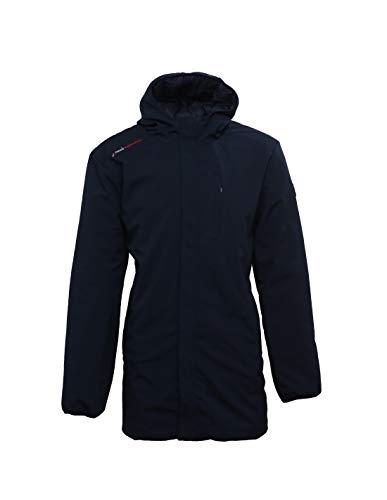 Peak Mountain Cesario/B/HEJ Doudoune Longue réversible Homme, Bleu Nuit/Bleu Nuit, FR : 3XL (Taille Fabricant : XXXL)