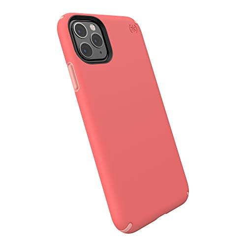 Speck Presidio Pro iPhone 11 Pro Max Case, Parrot Pink/Chiffon Pink