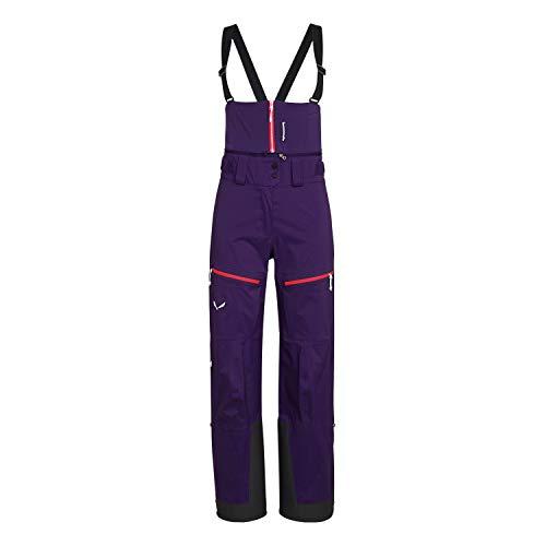 Salewa Antelao PTX 3L W P Pantalon pour Femme XL Pourpre (Parachute)
