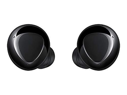 Samsung Galaxy Buds+ Plus, True Wireless Earbuds w/Improved Battery and Call Quality (Wireless Charging Case Included), (International Version) (Cosmic Black)