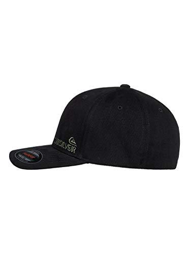 Quiksilver Herren SIDESTAY HAT Baseball Cap, schwarz, L/XL