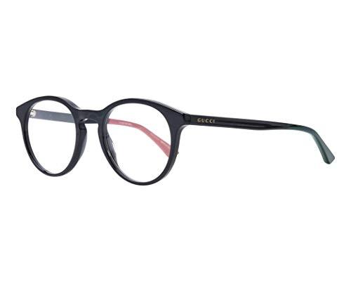 Gucci Brille (GG-0406-O 003) Acetate Kunststoff schwarz