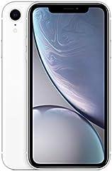 Apple iPhone XR (64GB) - Blanco (incluye Earpods, adaptador de corriente)