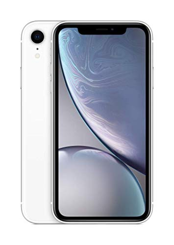 Apple iPhone XR (128GB) - Blanco (incluye Earpods, adaptador de corriente)