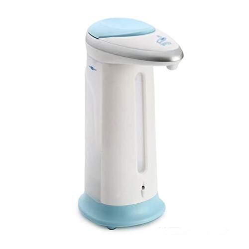 Distributeur Automatique de Savon 400ml Distributeur de Savon Automatique Haute Qualit/é Distributeur de Savon Capteur en Acier Inoxydable Blanc Bleu LegendTech Capteur de Distributeur de Savon