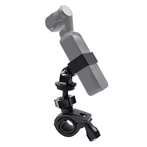 Xingsiyue Motociclo Staffa Manubrio Regolabile Supporto Mount per DJI Osmo Pocket 2 Gimbal Camera