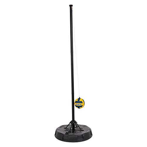 Lifetime 91009 Portable Tetherball System, Black