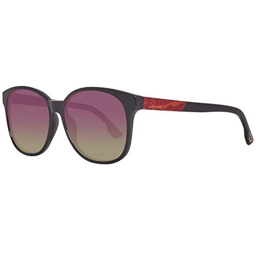 Diesel DL0121 5801T Sonnenbrille DL0121 5801T Groß Sonnenbrille 58, Schwarz