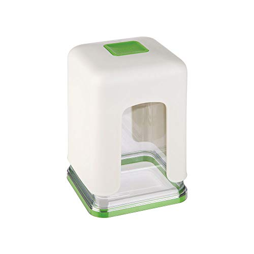Progressive International GPC-3670 Coupe-frire en plastique Blanc/vert