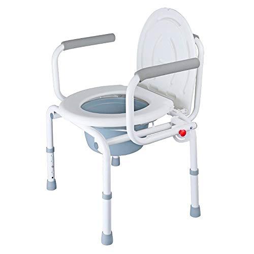 Yuany Toiletstoel, Zwangere Vrouwen Toilet/Senior Man Zittend Stoel/Commode Stoel Bad Stabiel Anti-slip Toilet Patient Toilet Kruk stoel