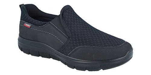 Producto Vegano. Mocasin Deportivo Rest Walking con Textil última generación y Suela de Poliuretano Ultraligera. LUISETTI Zapato Deportivo Runner 31101ST