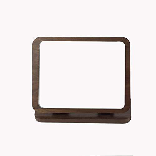 YO-TOKU up spiegel compacte spiegel Desktop Folding Mirror Houten Hoge Lijst Facial make-up spiegel Countertop Desktop Beauty make-up spiegel Cosmetic Supplies Gift
