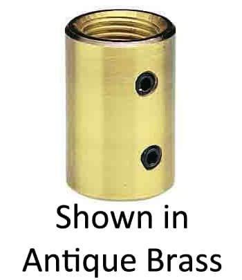 Craftmade COUPLER-SB Downrod Coupler, Satin Brass