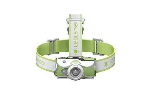 Led Lenser MH7 - Linterna (Linterna con cinta para cabeza, Verde, Blanco,...