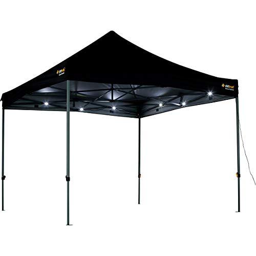 OZtrail Kit d'éclairage universel LED GCL-GULK-D pour tentes, tonnelles, tonnelles, etc. 4 bandes de 3 m de lumière LED 1500 lumens, 550 g.