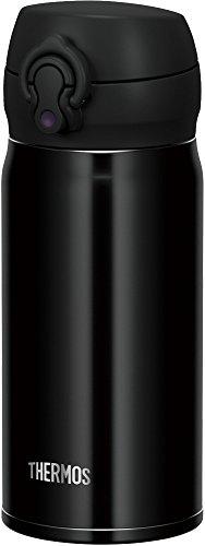 サーモス 水筒 真空断熱ケータイマグ 【ワンタッチオープンタイプ】 350ml ジェットブラック JNL-353 JTB