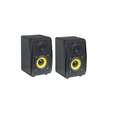 Dynavox TG-1000B Hi-If 2-Way Bookshelf Speakers Bass Reflex System 30W RMS from DynaVox