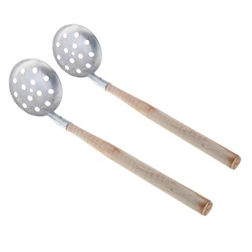 Perfeclan - Juego de 2 Palas de Hielo para Pesca de Hielo (34 cm)