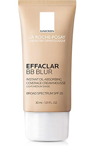La Roche-Posay Effaclar BB Blur with SPF 20, Light/Medium, 1.01 Fl. Oz.
