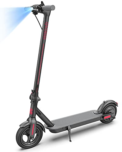 Electric Scooter for Adults,Powerful 500W Motor & Max Speed 19 MPH,8.5' Care-Free Dual Density Tires,20 Miles Long Range,Portable Folding Commuter Electric Scooter for Adults,UL2272 Certified
