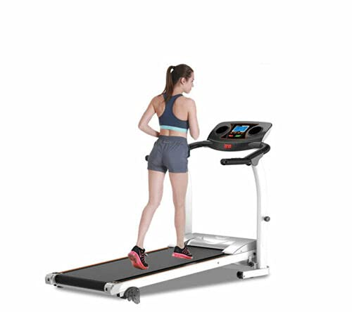 Electric Motorized Treadmill | Running Machine | Exercise Machine | Best for Home Cardio Fitness | Gym Equipment | Running Machine | Fitness Machine 1.5 HP…