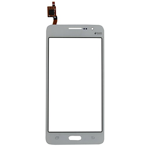 Touch Screen Digitizer - Front Glass Lens Sensor Panel for Samsung Galaxy Grand Prime G530 SM-G530H G530H G530F G530Y Repair Phone Parts (White)