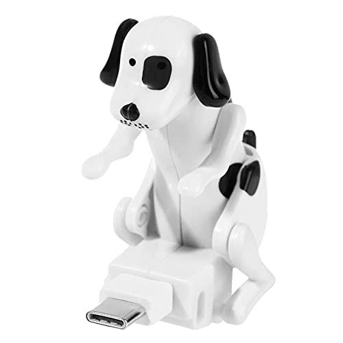 Bieuward Cable de carga de perros perdidos, cargador de cable USB del teléfono inteligente del perro, Mini Humping Public Lindo Public Like Universal Teléfonos móviles Cables para iPhone Android Typec