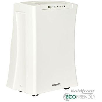 Koldfront PAC701W Slim Design 7,000 BTU Portable Air Conditioner, White
