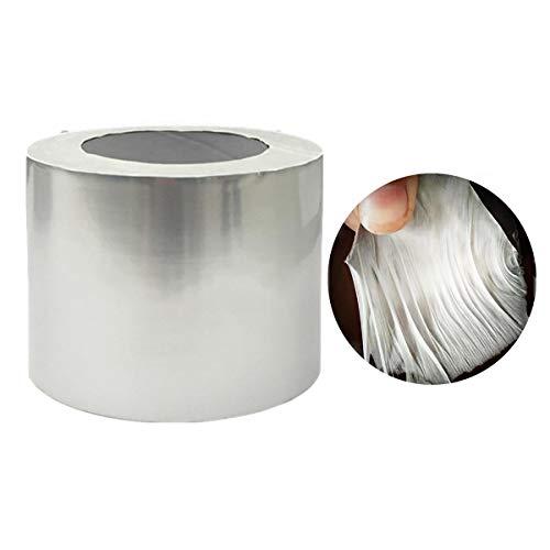 Cinta de goma de aluminio de lámina de butilo autoadhesivo impermeable impermeable techo de techo reparación marina (Color : 5M, Size : 10cm)
