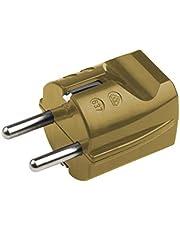 Meister geaarde contactkoppeling - kunststof - 250 V - 16 A - maximale kabeldoorsnede 2,5 mm² - IP20 voor gebruik binnenshuis/met trekontlasting