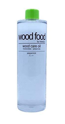 Wood Food I 木材油 I オイル (ミント, 400ML)